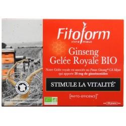 Ginseng bio + Gelée royale...