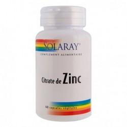 Citrate de zinc - Solaray...