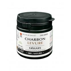 Charbon végétal + levure...